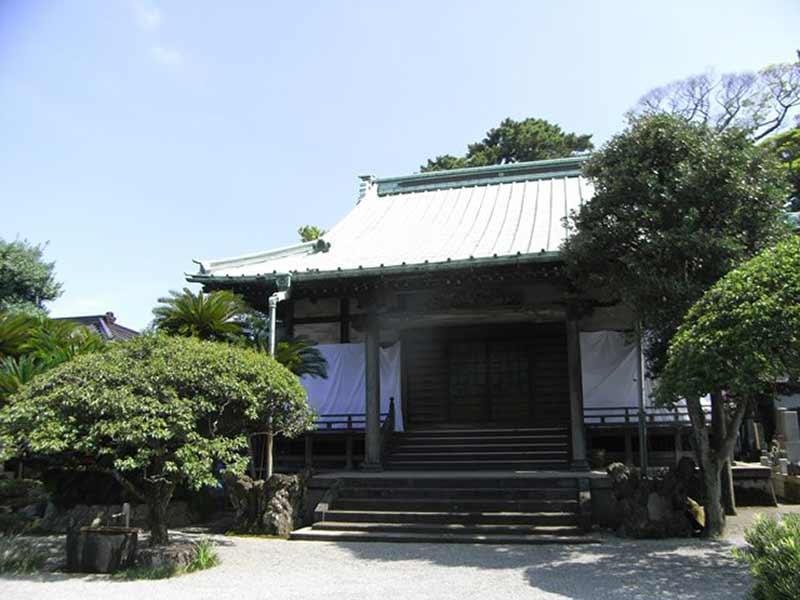 無量寺 植栽が美しい本堂