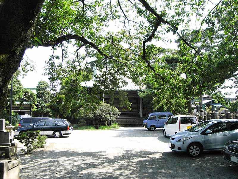 無量寺 駐車スペース