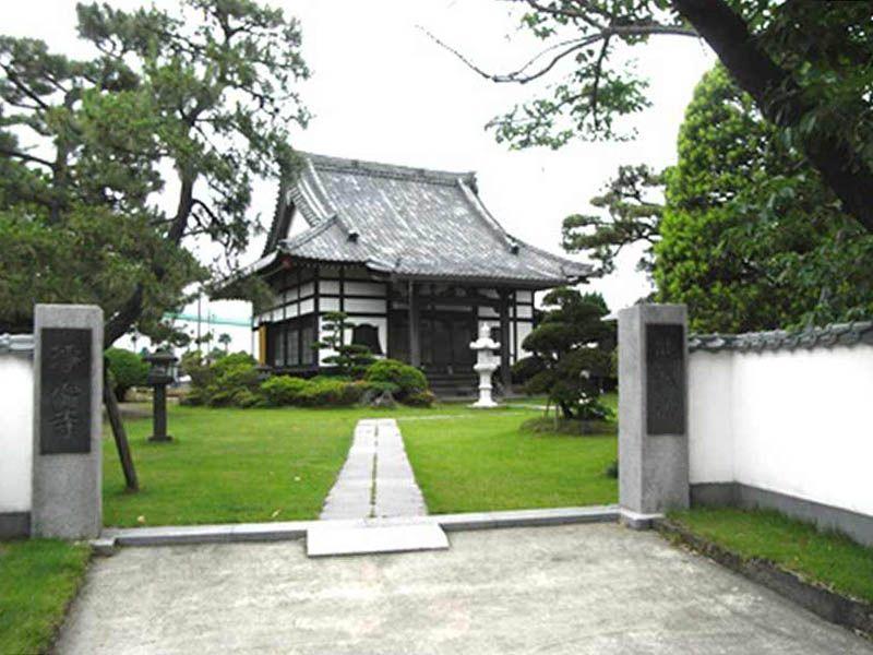 浄心寺 緑が溢れる園内