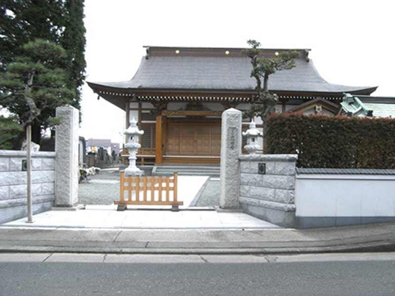 正安寺 寺院入口