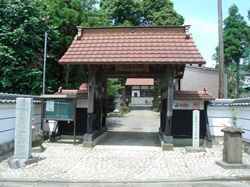 棟岩院 整備されている山門