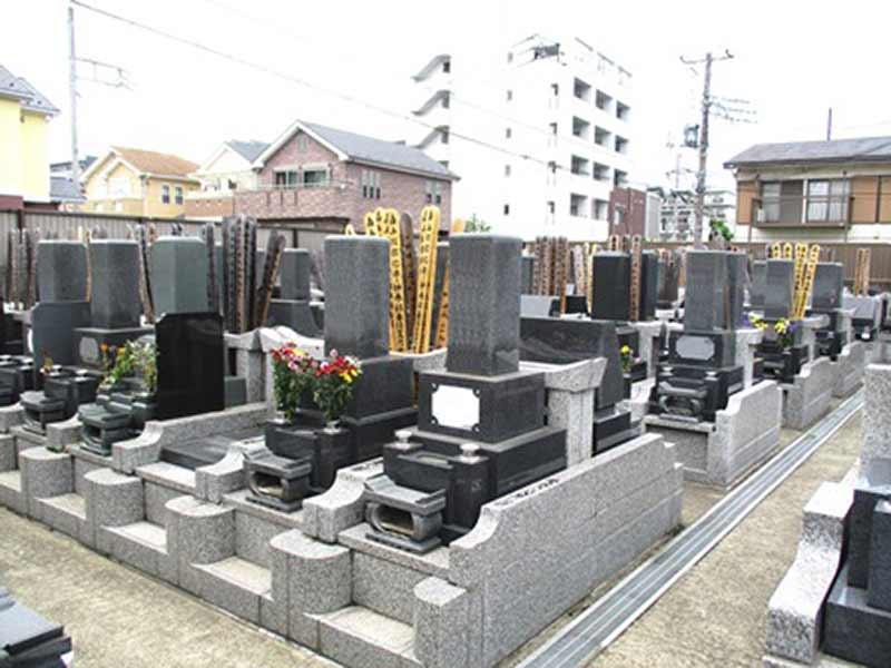増全寺 整備された区画