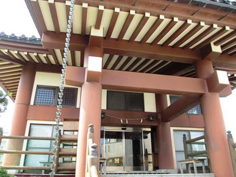 本行寺 本堂入口