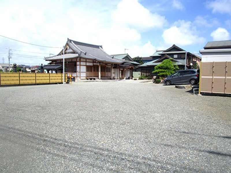 少林寺 駐車スペース