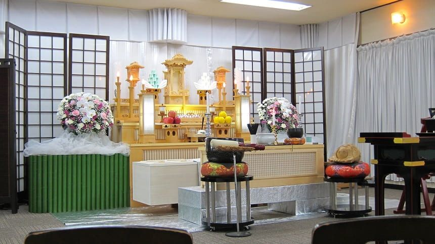 家族葬の会場