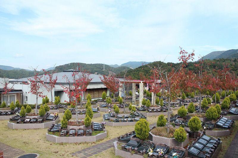北摂池田メモリアルパークの園内風景①