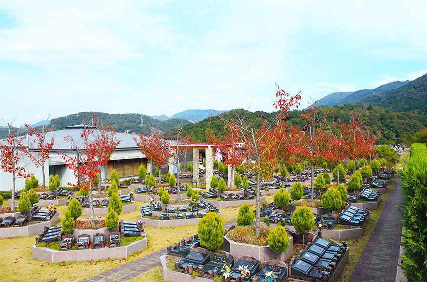 北摂池田メモリアルパーク 墓地風景