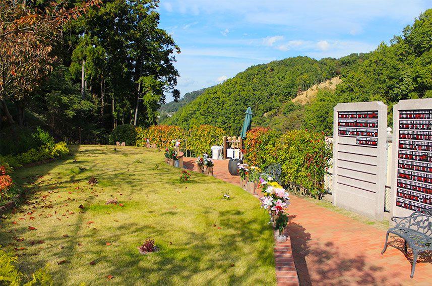 北摂池田メモリアルパークの個別型自然葬「COCORO」
