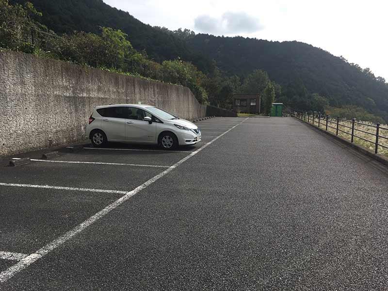 メモワール秦野 整備された駐車場