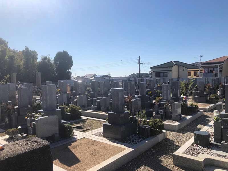 實相寺(多聞寺)第二墓地