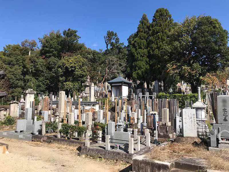 京都市営 宝塔寺山墓地