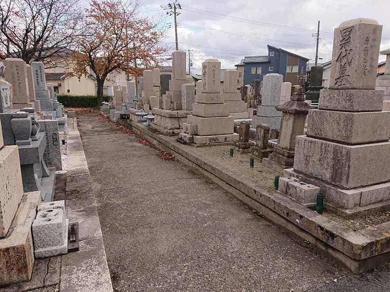 新潟市江南区営 亀田墓地