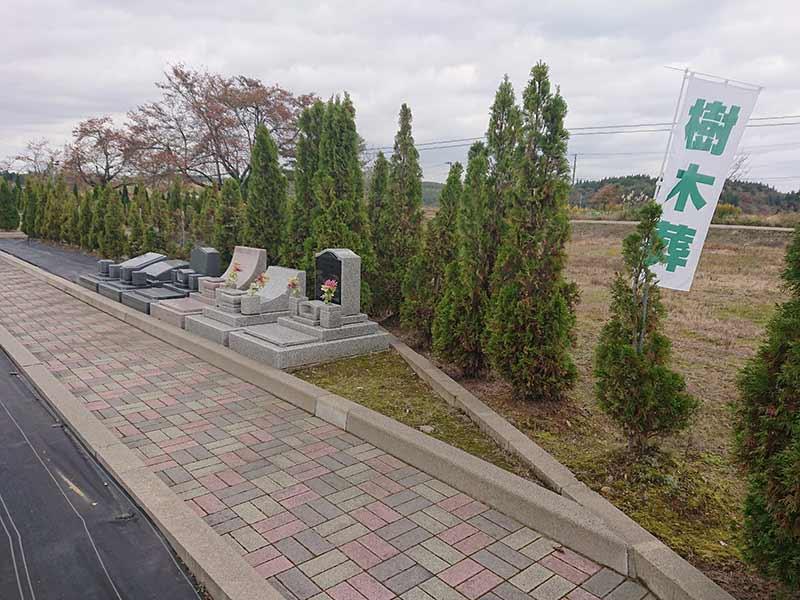 フジパーク霊園 見附 広大な敷地に緑ある一般墓