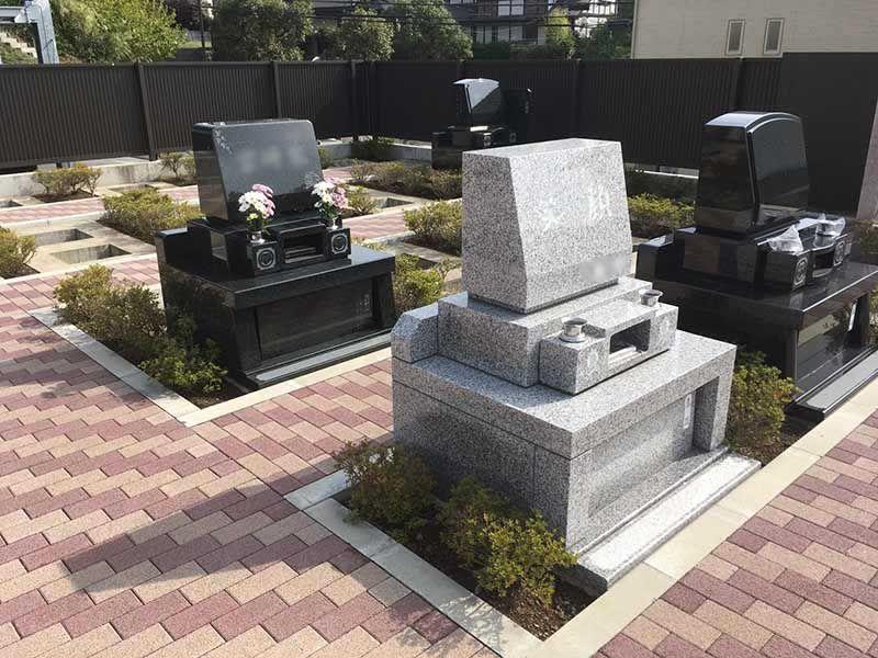 二宮霊園 ひかりの丘 広々とした墓域