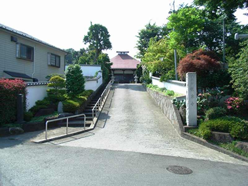 浄土宗 桃源山 龍泉寺 入口