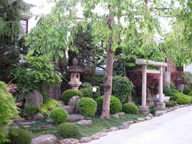 日蓮宗 妙経寺 寺院内の庭園