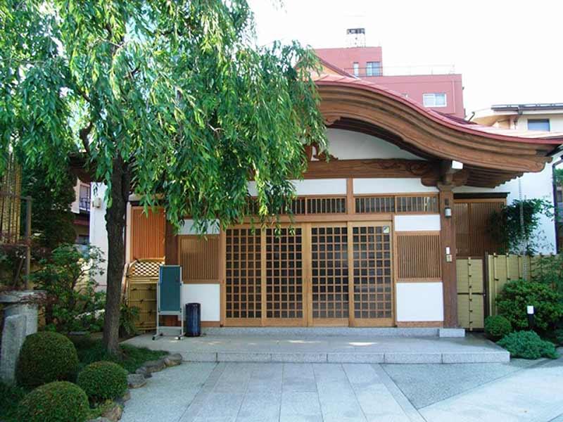 日蓮宗 妙経寺 本堂