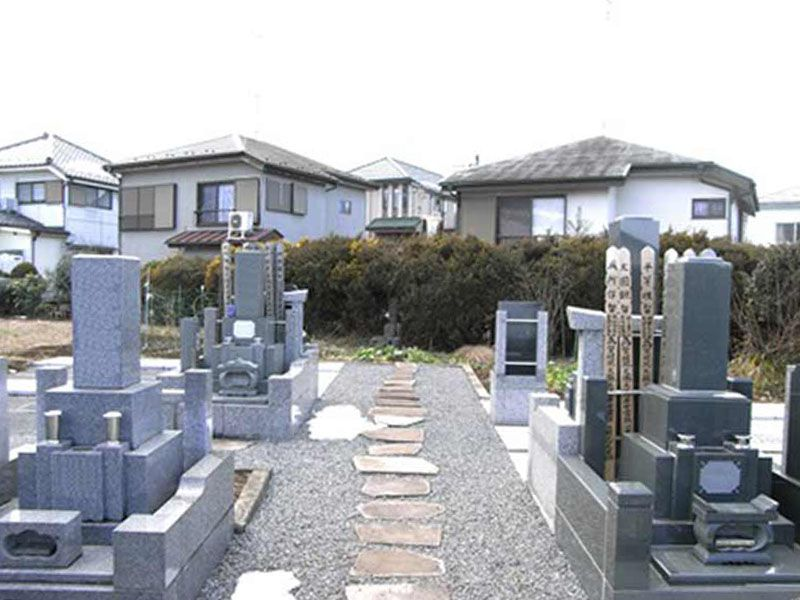 臨済宗 妙心寺派 芳心院 墓域の様子