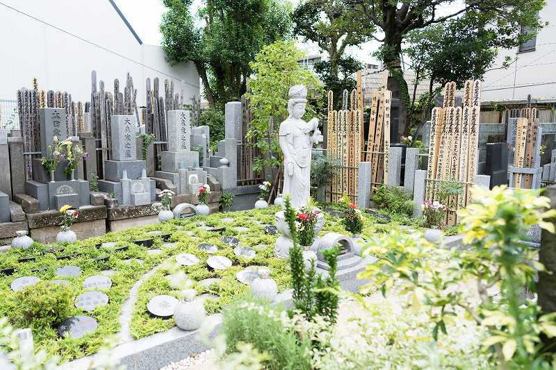 四谷三丁目樹木葬墓地