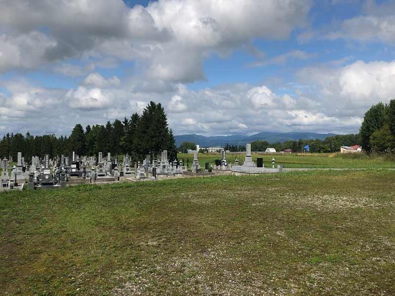 名寄市営 風連中央墓地