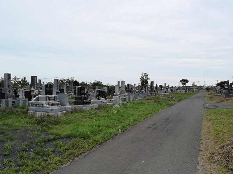 根室市営 西浜町墓地