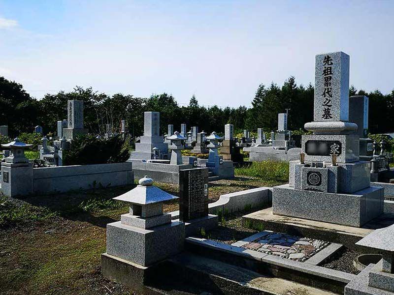 帯広市川西墓地