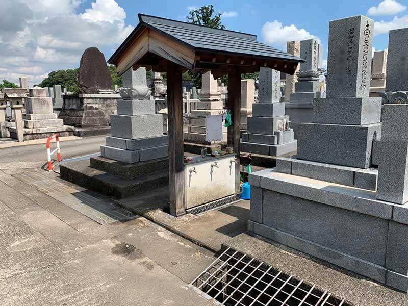 南砺市営 城端墓地
