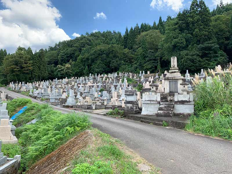南砺市営 井波墓地