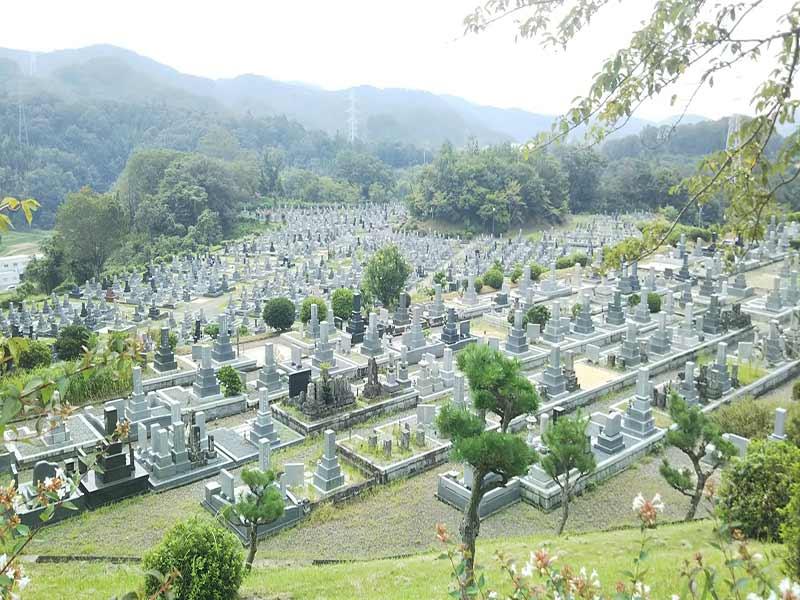 豊田市営 古瀬間墓地公園