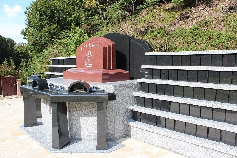 ペット合同慰霊碑「絆の碑」