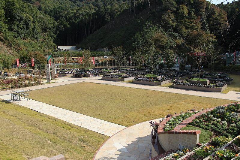庭園墓地「夢咲ガーデン」の風景