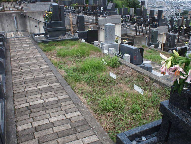 黒川光墓苑 新規募集の区画
