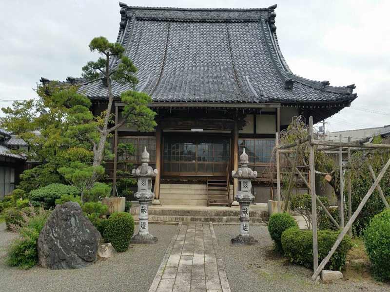 浄勝寺 のうこつぼ