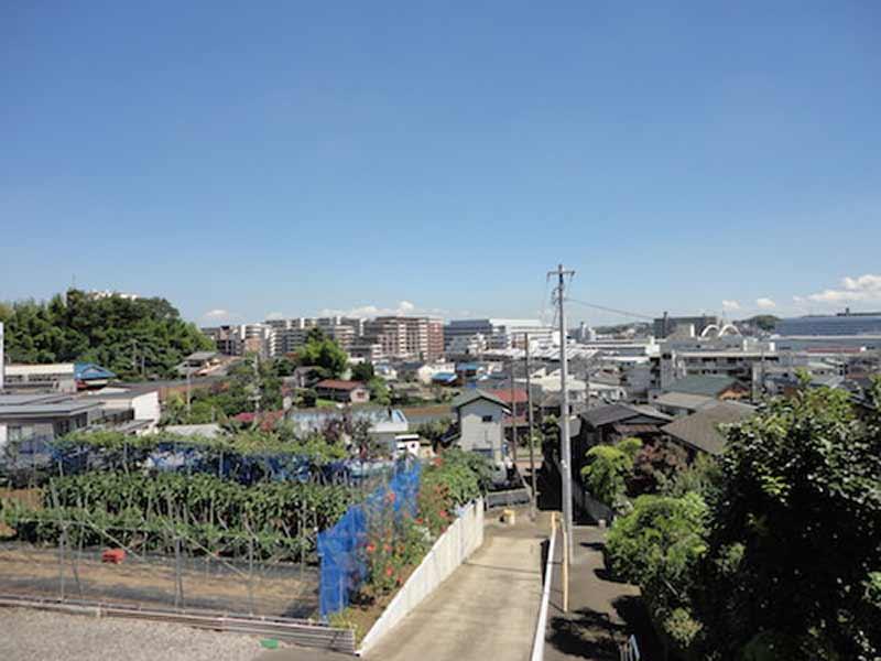 東漸寺 のうこつぼ 高台からの眺望