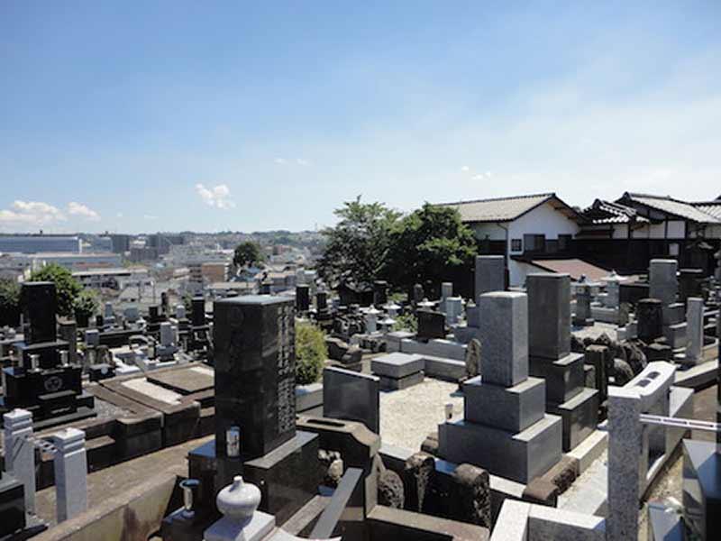 東漸寺 のうこつぼ 一般区画風景