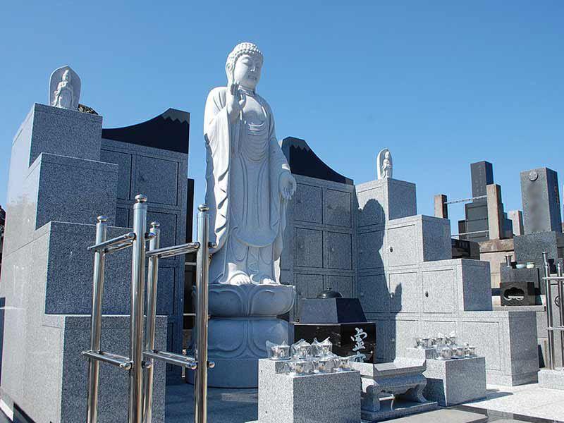 東漸寺 のうこつぼ 観音菩薩像が建てられた「のうこつぼ 」