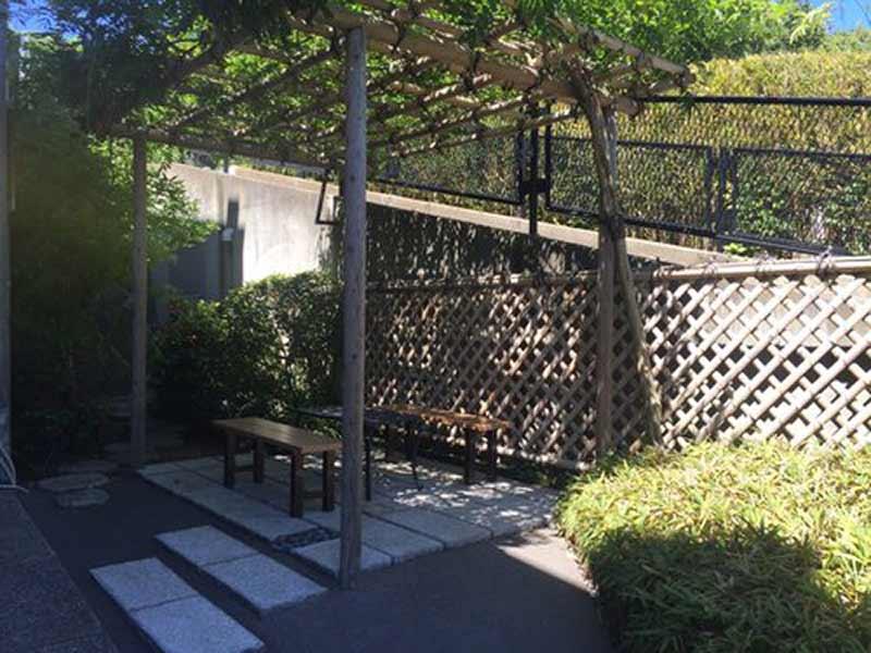 三樹院 のうこつぼ 休憩スペース