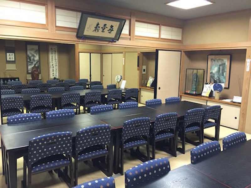 三樹院 のうこつぼ 法要施設内部