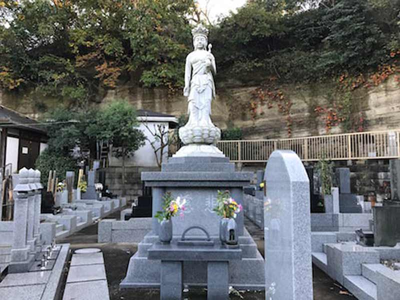 宝善院 のうこつぼ 墓域の様子