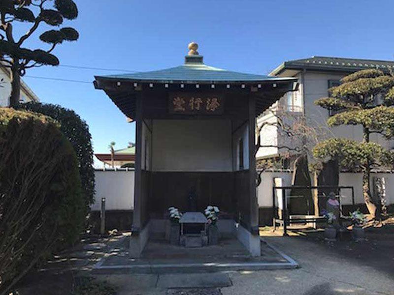 大圓寺 のうこつぼ