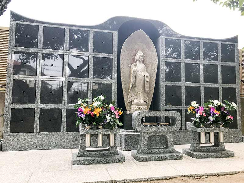 長安寺 のうこつぼ