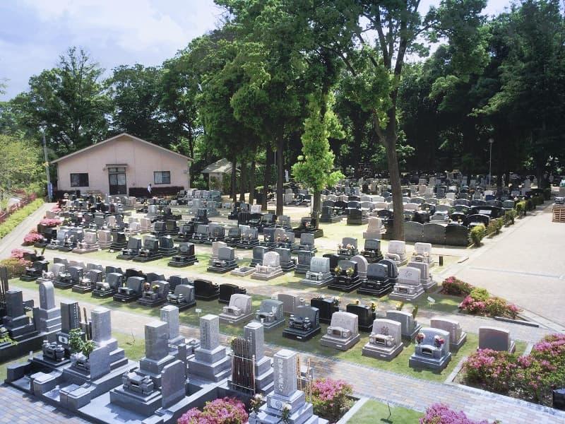 森のお墓 弥生の里・自然聖園の園内の様子
