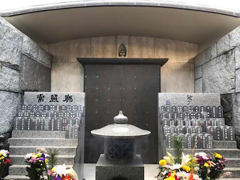 善慶寺 のうこつぼ