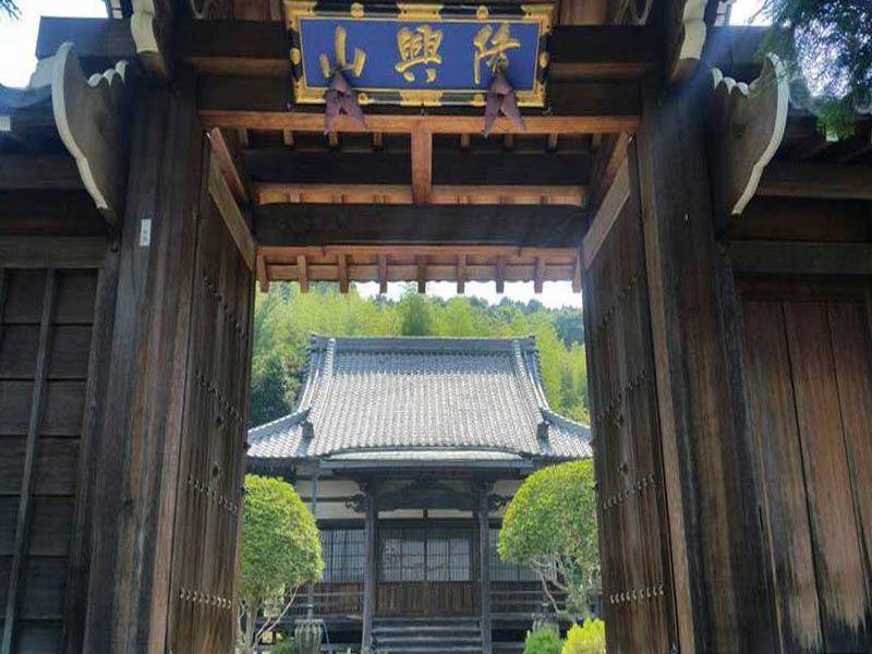 本法寺 のうこつぼ