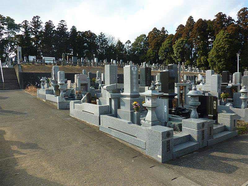 ひたちなか市営 高野墓地