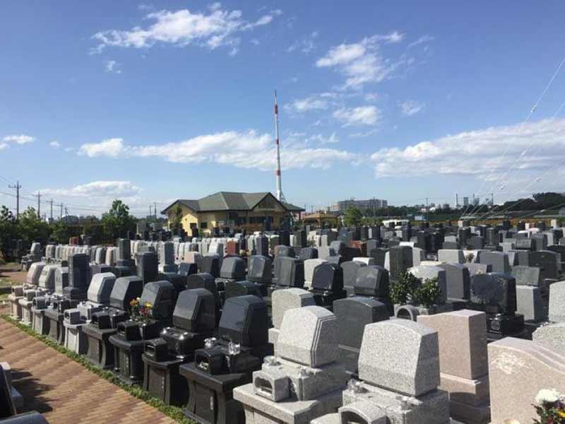 うらわ秋ヶ瀬霊園 「永遠の絆」永代供養墓 霊園内風景