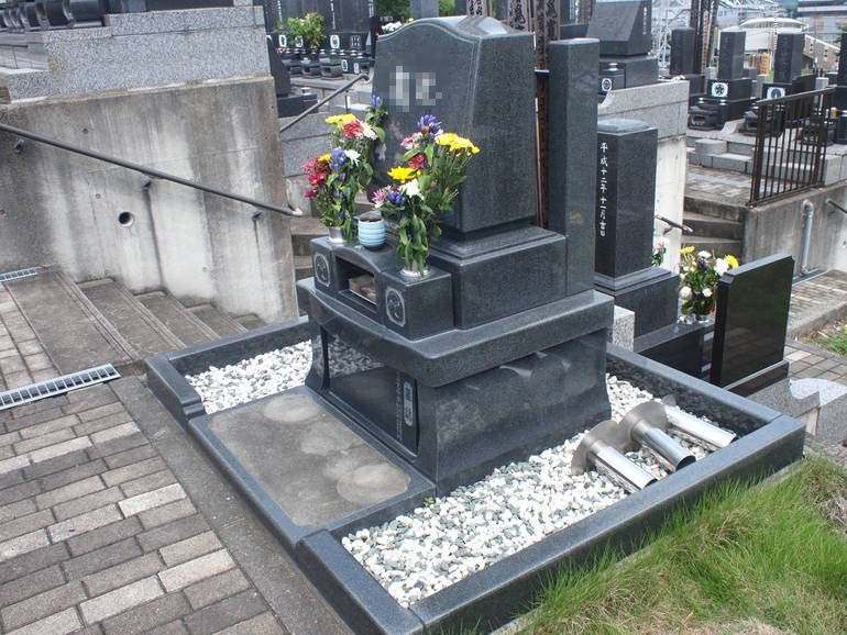 黒川光墓苑 ゆとりのある砂利式墓所