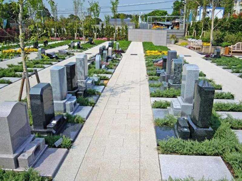 川口メモリアル和楽邸 日当たりが良く明るい墓域