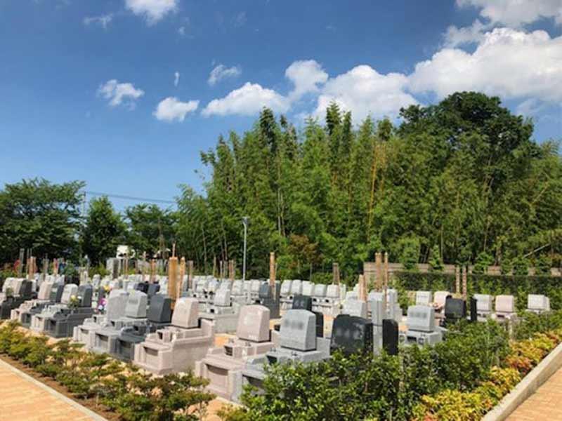 加須はなさき浄苑 第2期 ゆとりある墓域