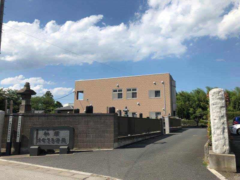 加須はなさき浄苑 第2期 霊園入口